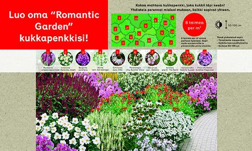 Rabatt Romantic garden