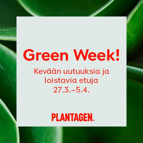 Green Week 27.3-5.4